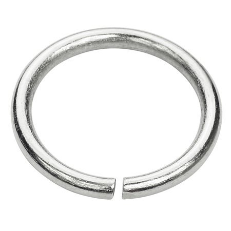 Kółko kaletnicze do torebki szelek kombinezonu 20 mm srebrne 10 szt.